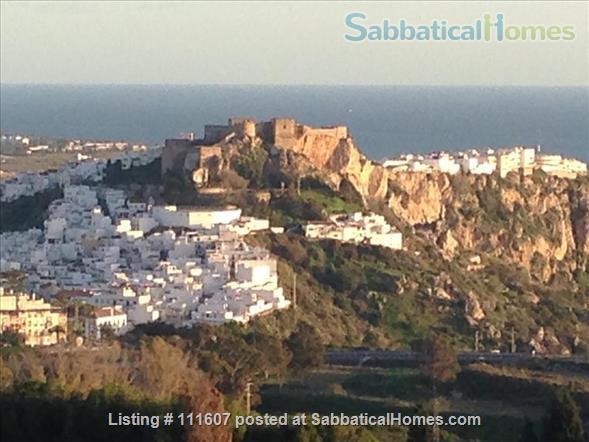 Mediterranean & Mountain Views surround this Granada Province cottage Home Rental in Salobreña, AL, Spain 9