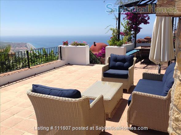 Mediterranean & Mountain Views surround this Granada Province cottage Home Rental in Salobreña, AL, Spain 1