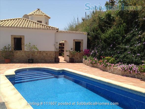 Mediterranean & Mountain Views surround this Granada Province cottage Home Rental in Salobreña, AL, Spain 0