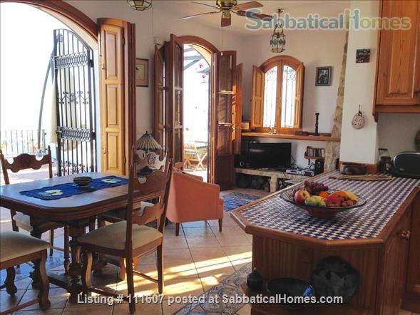 Mediterranean & Mountain Views surround this Granada Province cottage Home Rental in Salobreña, AL, Spain 2