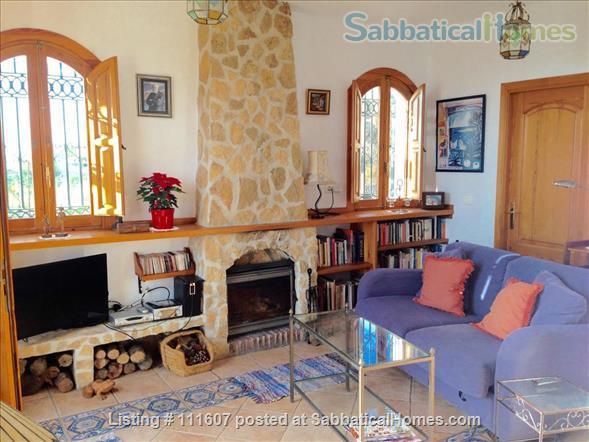 Mediterranean & Mountain Views surround this Granada Province cottage Home Rental in Salobreña, AL, Spain 4