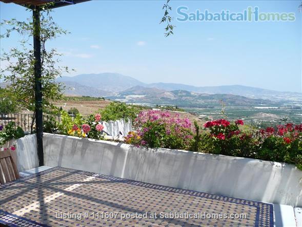 Mediterranean & Mountain Views surround this Granada Province cottage Home Rental in Salobreña, AL, Spain 5