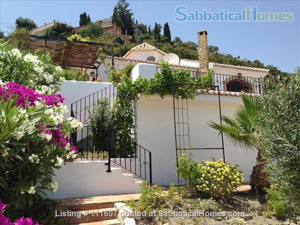 Mediterranean & Mountain Views surround this Granada Province cottage Home Rental in Salobreña, AL, Spain 7