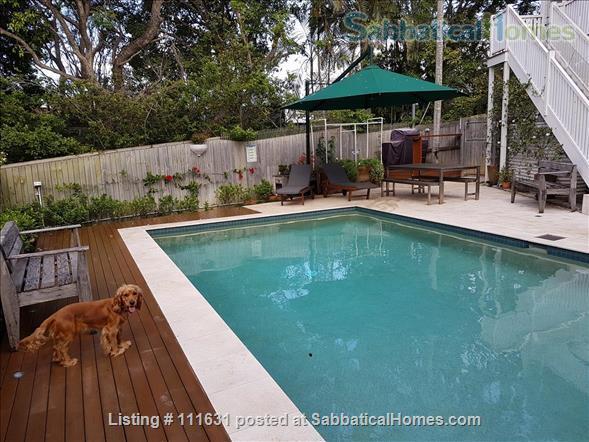 Modern 3 Bedroom Unit, Patio, leafy Yard, Pool Home Rental in South Brisbane, QLD, Australia 9