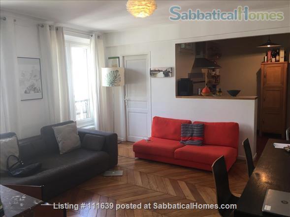 Charming apartment for a family in central Paris Home Rental in Paris, Île-de-France, France 1