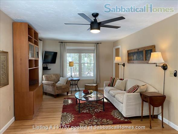 Quiet 1 Bedroom Accessory Apartment Close to Umass Amherst Home Rental in Hadley, Massachusetts, United States 1