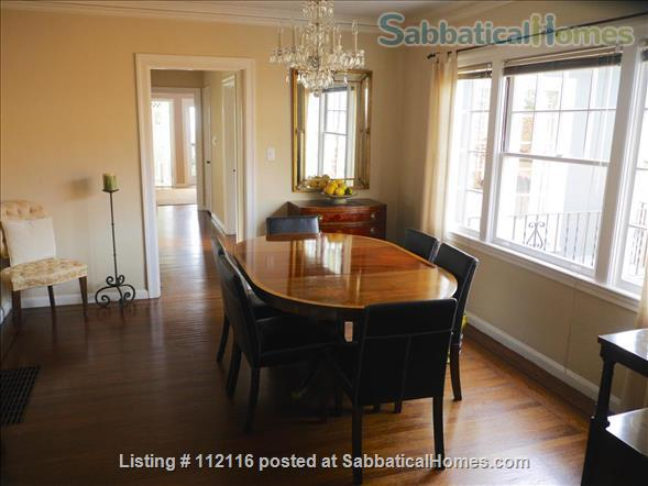 Beautiful furnished two bedroom/two bath house with great bay views includes utilities, cable and more Home Rental in Oakland, California, United States 3