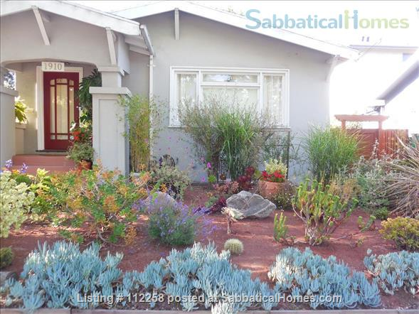 Craftsman Two Bedroom Family Home in Berkeley, near SF, Redwood Deck, Walking Distance to UC Berkeley Campus and Downtown, and All Major Public Transportation, Accommodates 4! Home Rental in Berkeley, California, United States 1