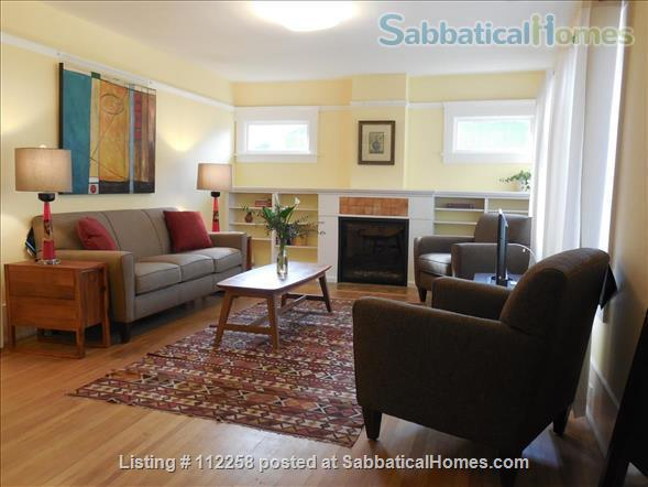 Craftsman Two Bedroom Family Home in Berkeley, near SF, Redwood Deck, Walking Distance to UC Berkeley Campus and Downtown, and All Major Public Transportation, Accommodates 4! Home Rental in Berkeley, California, United States 3