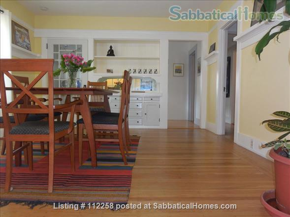 Craftsman Two Bedroom Family Home in Berkeley, near SF, Redwood Deck, Walking Distance to UC Berkeley Campus and Downtown, and All Major Public Transportation, Accommodates 4! Home Rental in Berkeley, California, United States 5