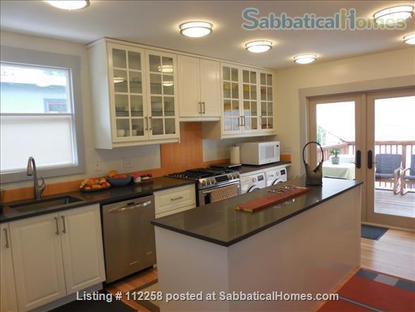 Craftsman Two Bedroom Family Home in Berkeley, near SF, Redwood Deck, Walking Distance to UC Berkeley Campus and Downtown, and All Major Public Transportation, Accommodates 4! Home Rental in Berkeley, California, United States 6