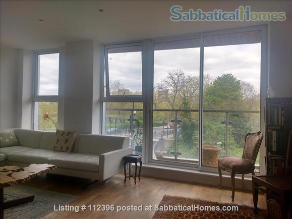 listing image for Beautiful, modern, luxury flat on Regent's Canal. Great location and access