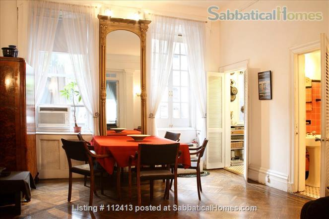 Greenwich Village Brownstone-Huge Private Deck, Separated Entrance Home Rental in New York, New York, United States 4