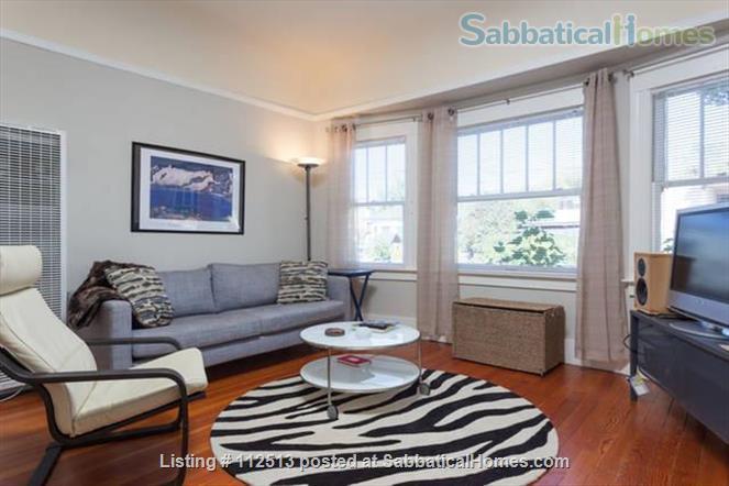 Sunny 1BD 1block from N. Berk BART Home Rental in Berkeley, California, United States 1
