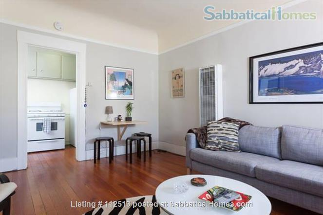 Sunny 1BD 1block from N. Berk BART Home Rental in Berkeley 2 - thumbnail