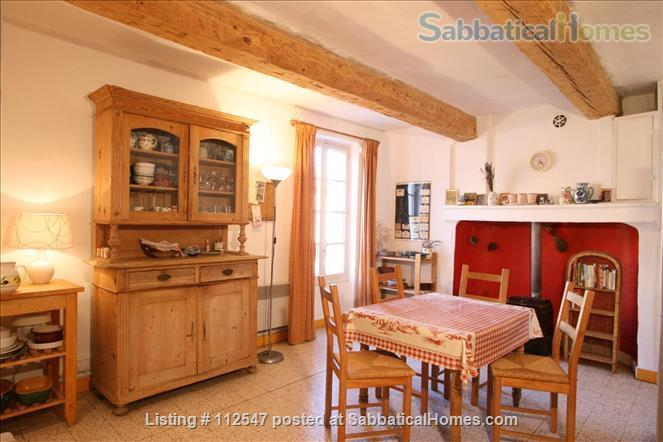 Charming 3-bedroom house in Provençal village                     Home Rental in Mirabel-aux-Baronnies, Auvergne-Rhône-Alpes, France 0