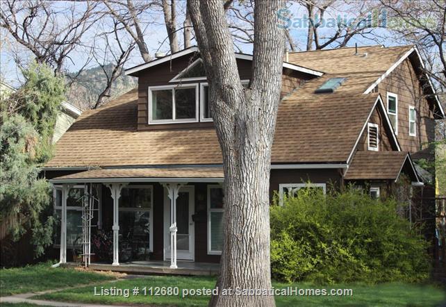 West Boulder Family Home near Univ. of CO, Summer 2022 Rental Home Rental in Boulder, Colorado, United States 0