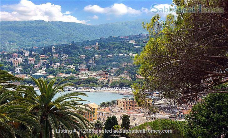 Magnificent family apartment with a splendid view on the Ligurian Riviera Home Rental in Rapallo, Liguria, Italy 1