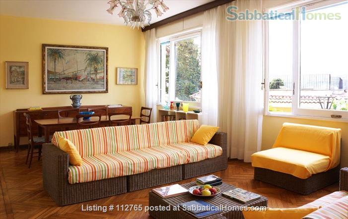 Magnificent family apartment with a splendid view on the Ligurian Riviera Home Rental in Rapallo, Liguria, Italy 2