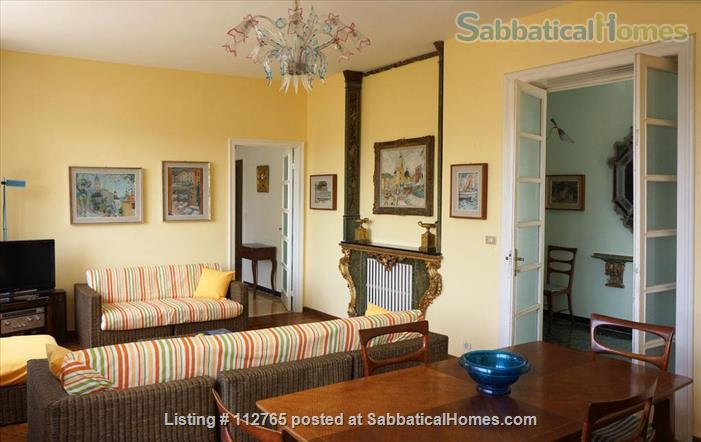 Magnificent family apartment with a splendid view on the Ligurian Riviera Home Rental in Rapallo, Liguria, Italy 3