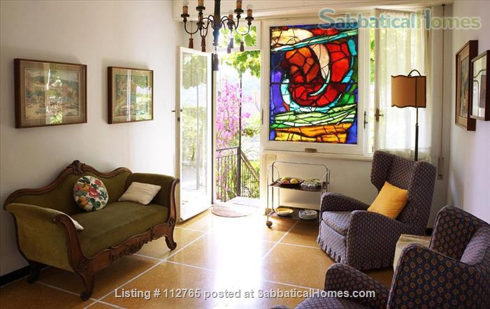 Magnificent family apartment with a splendid view on the Ligurian Riviera Home Rental in Rapallo, Liguria, Italy 4
