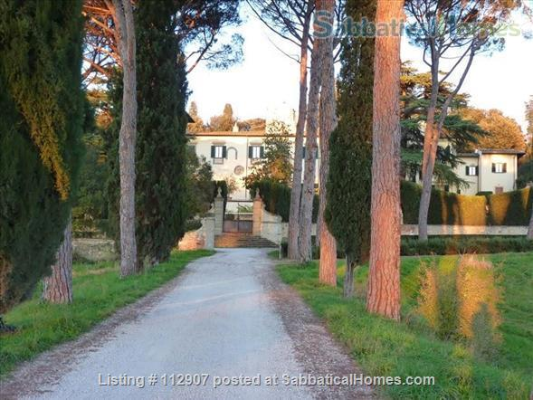 Apartment, park, garden, pool, in Renaissance Villa walking distance to i Tatti - Near EUI (10 min by car)  Home Exchange in Florence, Tuscany, Italy 2