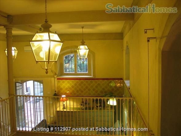 Apartment, park, garden, pool, in Renaissance Villa walking distance to i Tatti - Near EUI (10 min by car)  Home Exchange in Florence, Tuscany, Italy 5