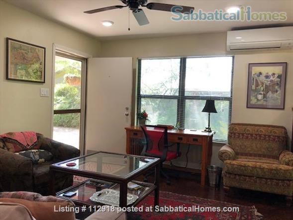 UT/Hyde Park cottage w/patio; PAID Elec/water/WiFi/Washer/Dryer/Bike Home Rental in Austin 1