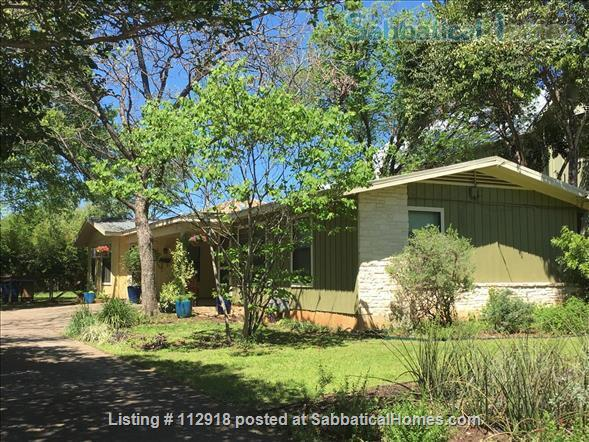 UT/Hyde Park cottage w/patio; PAID Elec/water/WiFi/Washer/Dryer/Bike Home Rental in Austin 7