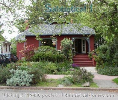 Furnished House for Rent,  9 July - 19 July, 2021,  Dog OK Home Rental in Berkeley, California, United States 0