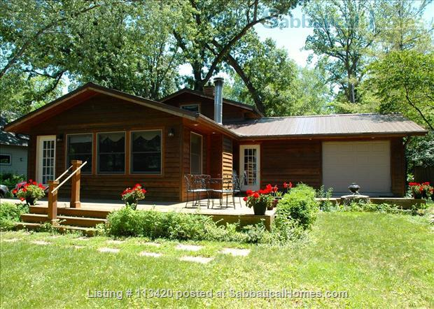listing image for On Lake Mendota, near campus, 3BR, 2-bath, garage. Large dock and deck!