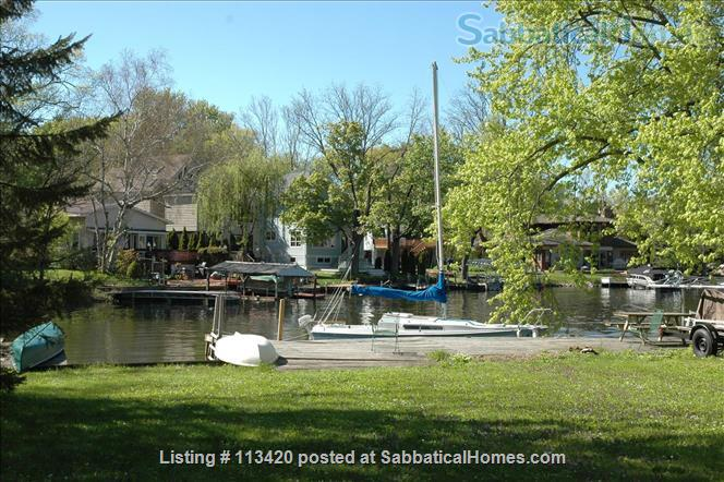 On Lake Mendota, near campus, 3BR, 2-bath, garage. Large dock and deck! Home Rental in Madison, Wisconsin, United States 2