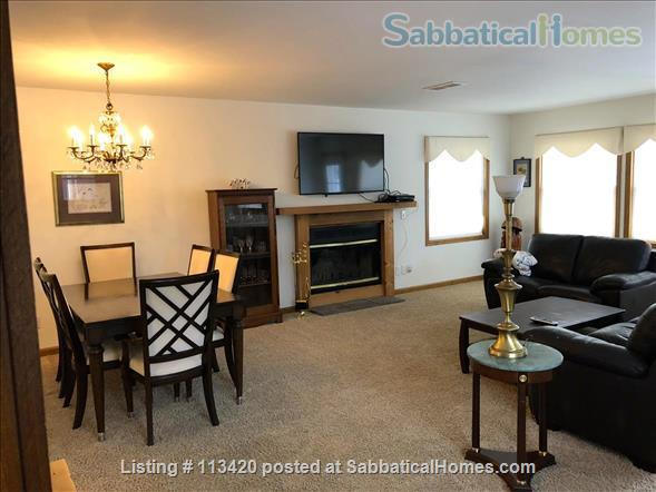 On Lake Mendota, near campus, 3BR, 2-bath, garage. Large dock and deck! Home Rental in Madison, Wisconsin, United States 5