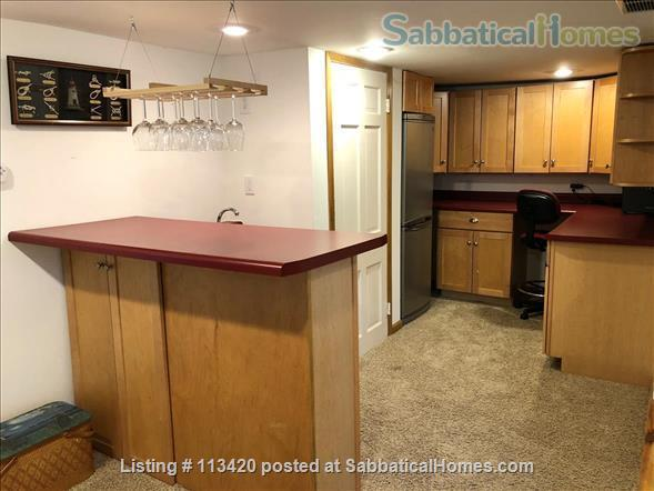 On Lake Mendota, near campus, 3BR, 2-bath, garage. Large dock and deck! Home Rental in Madison, Wisconsin, United States 8