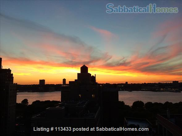 Upper West Side Apt. With Stunning River Views Home Rental in New York, New York, United States 1