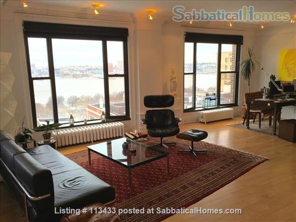 Upper West Side Apt. With Stunning River Views Home Rental in New York, New York, United States 0