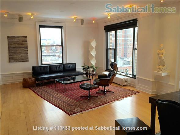 Upper West Side Apt. With Stunning River Views Home Rental in New York, New York, United States 2