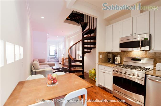 MANHATTAN - 15 min walk to Columbia University - 2 bed/2 Bath -  backyard  Home Rental in New York, New York, United States 0
