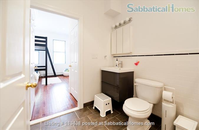 MANHATTAN - 15 min walk to Columbia University - 2 bed/2 Bath -  backyard  Home Rental in New York, New York, United States 3