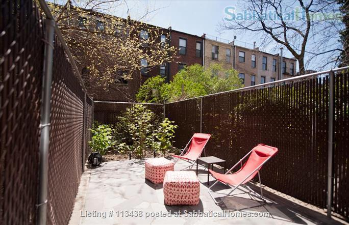 MANHATTAN - 15 min walk to Columbia University - 2 bed/2 Bath -  backyard  Home Rental in New York, New York, United States 4