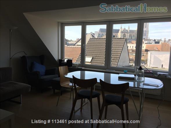 Apartment in central historical Ghent Home Rental in Ghent, Vlaanderen, Belgium 1