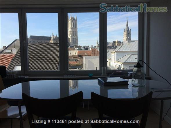 Apartment in central historical Ghent Home Rental in Ghent, Vlaanderen, Belgium 0