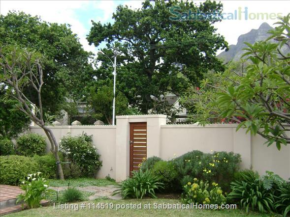 Bordering UCT campus, spacious, comfortable, secure, family home. Home Rental in Cape Town, WC, South Africa 0