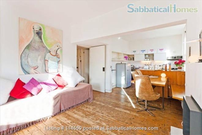 Cool Loft-Style Central London Home Home Rental in Greater London, England, United Kingdom 1