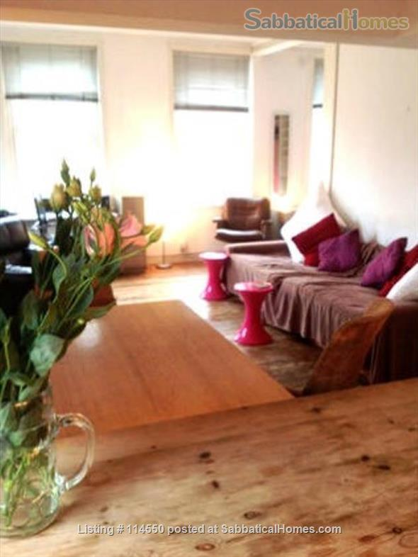 Cool Loft-Style Central London Home Home Rental in Greater London, England, United Kingdom 2