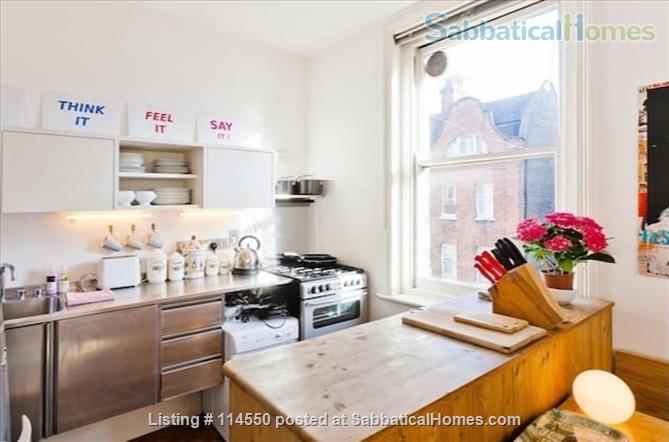 Cool Loft-Style Central London Home Home Rental in Greater London, England, United Kingdom 5