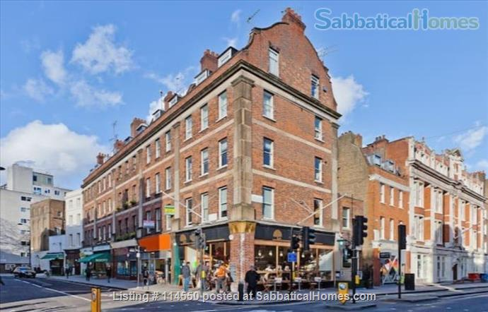 Cool Loft-Style Central London Home Home Rental in Greater London, England, United Kingdom 6