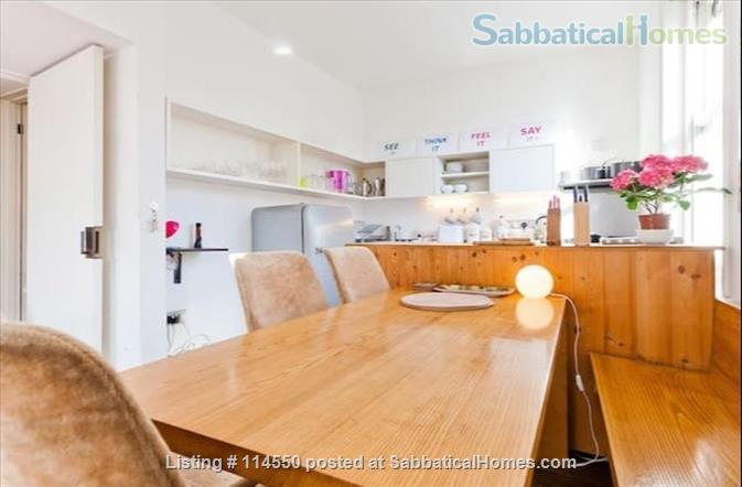 Cool Loft-Style Central London Home Home Rental in Greater London, England, United Kingdom 7