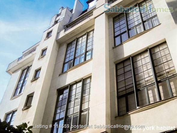 Paris in style : 1000 sq. ft Artist duplex in Montparnasse landmark building. Home Rental in Paris, Île-de-France, France 1