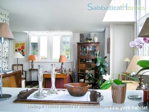 Paris in style : 1000 sq. ft Artist duplex in Montparnasse landmark building. Home Rental in Paris, Île-de-France, France 2